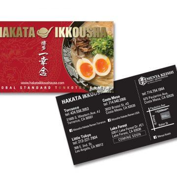 Hakata Ikkousha Business Card